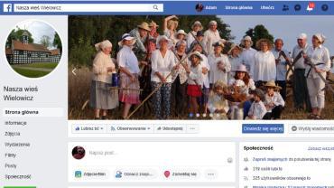 zrzut ekranu profilu Nasza wień Wielowicz na Facebooku